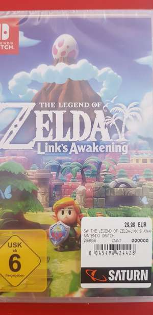 The Legend of Zelda Link's Awenkening Lokal Saturn Senden 89250
