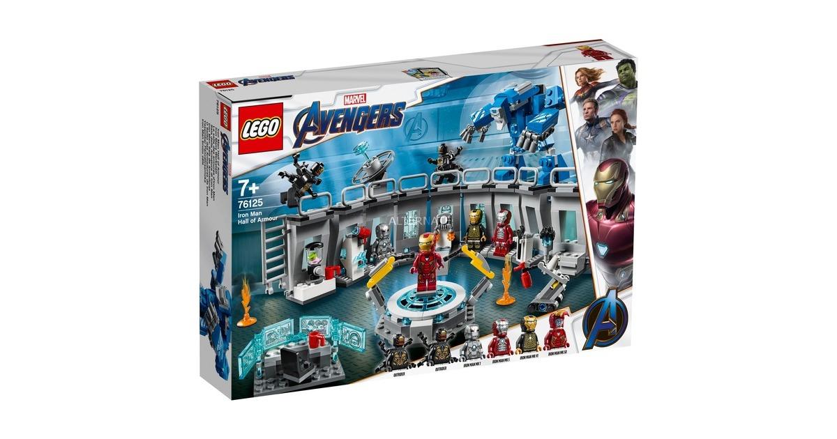 LEGO 76125 Marvel Super Heroes Iron Mans Werkstatt