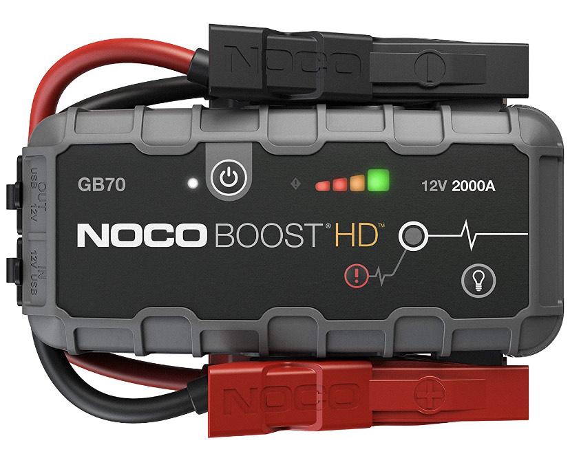Tragbares Lithium-Autobatterie-Starthilfe-Pack für bis zu 8-Liter-Benzin- und 6-Liter-Diesel