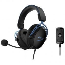 HyperX Cloud Alpha S 7.1 Gaming Headset - schwarz/blau