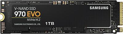 SAMSUNG NVMe SSD 970 Evo 1TB SSD intern für 107,91€ inkl. Versandkosten