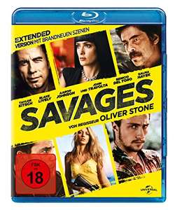 Savages - Extended Version (Blu-ray) für 5,73€ (Amazon & Thalia Club)