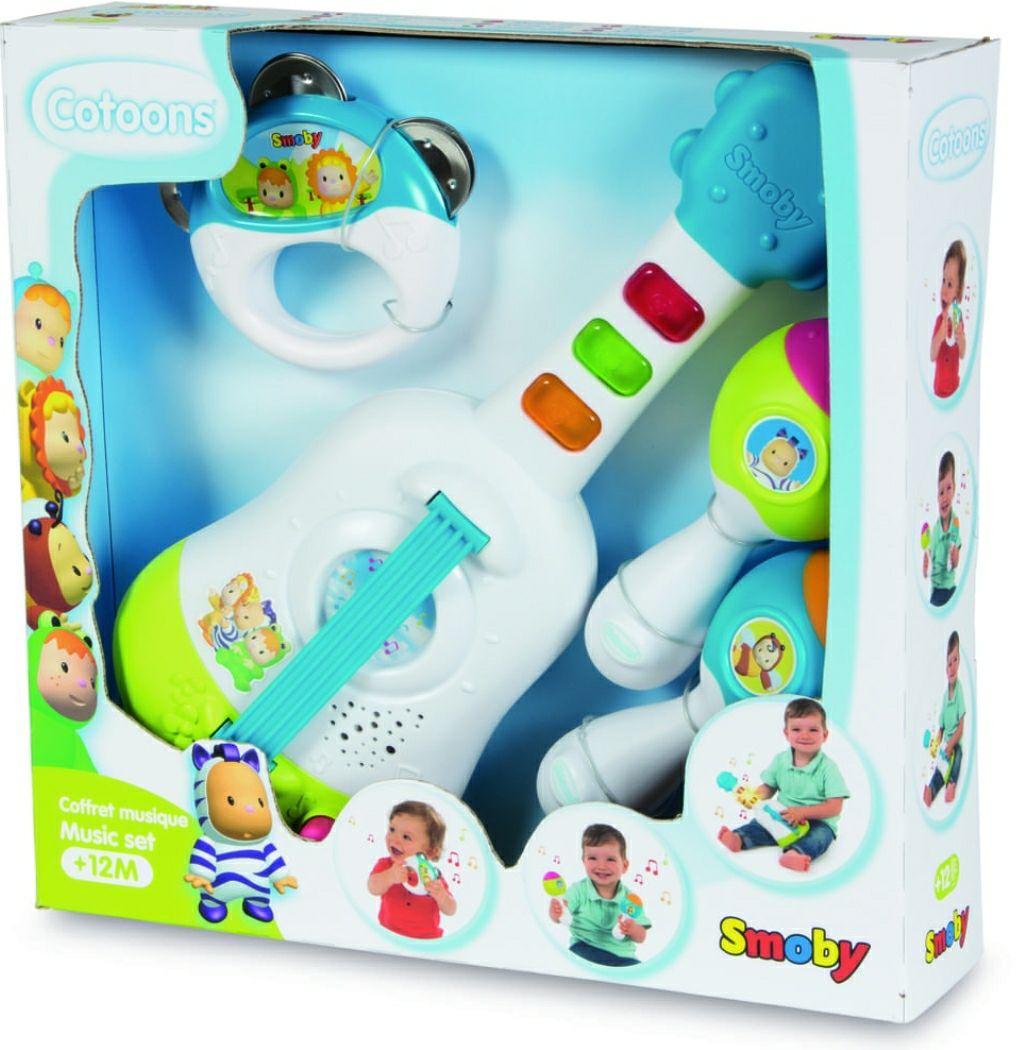 Cotoons Musik-Set von Smoby - Lernspielzeug für Kleinkinder