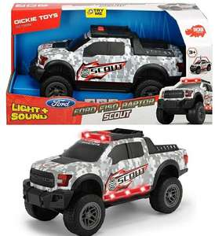 [Sammeldeal] Dickie Toys Spielzeugautos z. B. Ford F150 Raptor