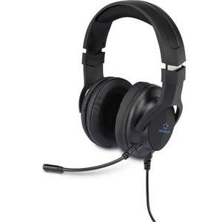 [digitalo] Renkforce Gaming Headset USB schnurgebunden Over Ear Black