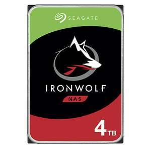 Seagate IronWolf NAS HDD 4TB, SATA 6Gb/s CMR (ST4000VN008)