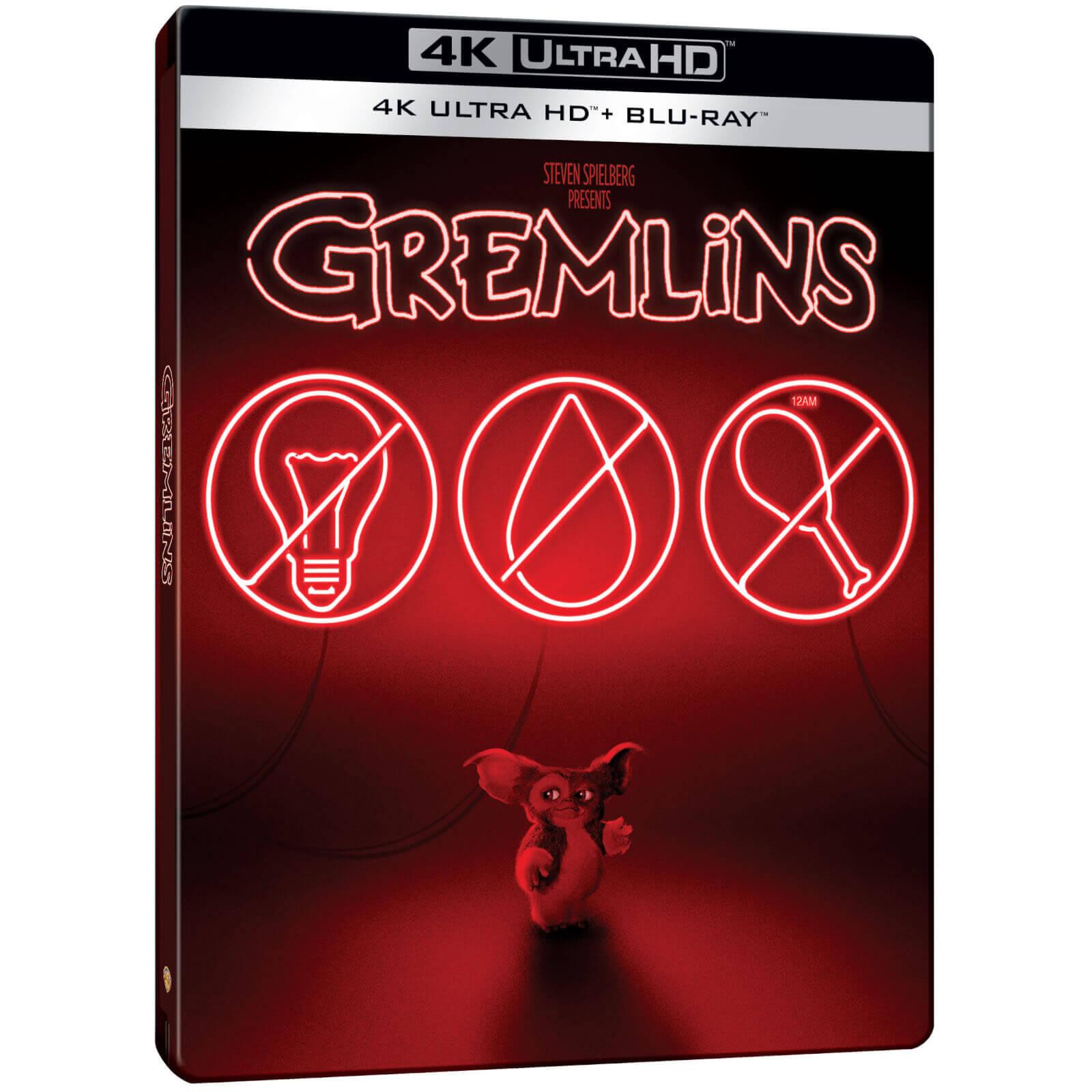 Gremlins - Exklusives Steelbook (4K Blu-ray + Blu-ray) für 18,69€ inkl. Versand (Zavvi)