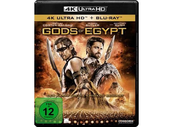 Gods of Egypt (4K Blu-ray + Blu-ray) für 6,99€ (Dodax)