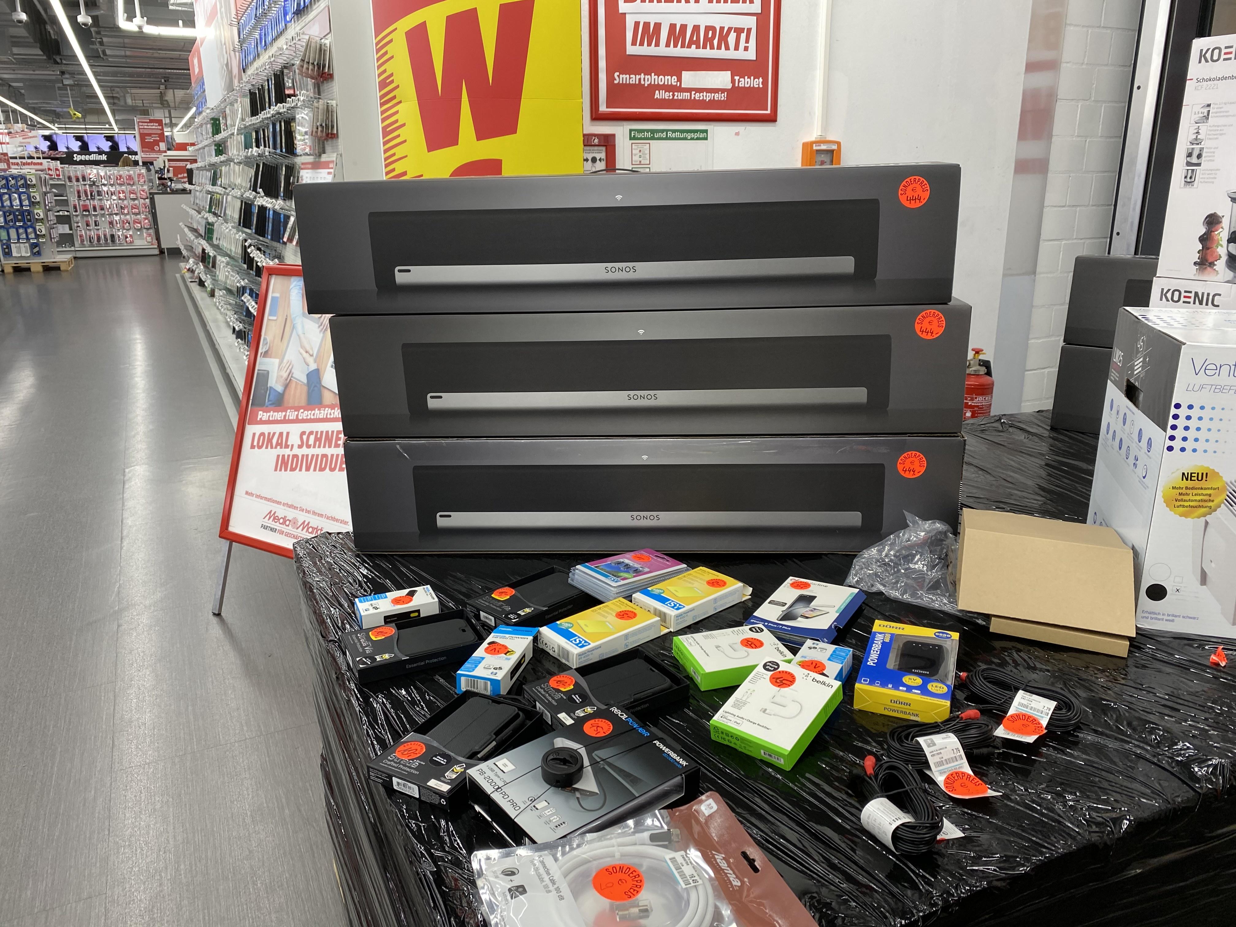 *Lokal* Media Markt Kaufpark Eiche- Sonos Playbar in schwarz
