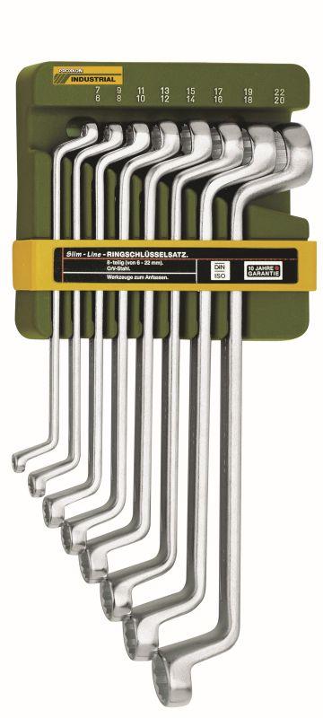 Proxxon Slim Line Doppelringschlüssel Satz 8-tlg. (23810) für 14,77€ [Globus Baumarkt]