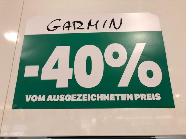 lokal Galeria Kaufhof Essen - Garmin Fenix 5 und andere Modelle -40% Rabatt