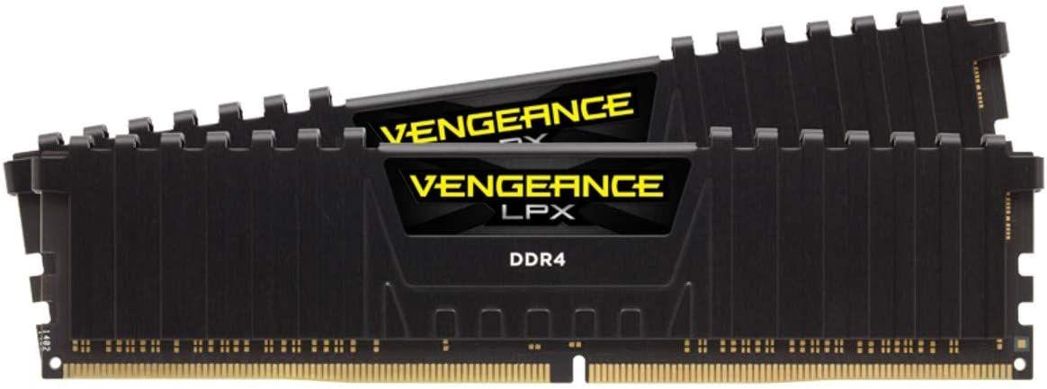 Corsair Vengeance LPX 32GB (2 x16GB) DDR4-RAM 3200MHz CL16, High Performance Desktop Arbeitsspeicher Kit (CMK32GX4M2E3200C16)