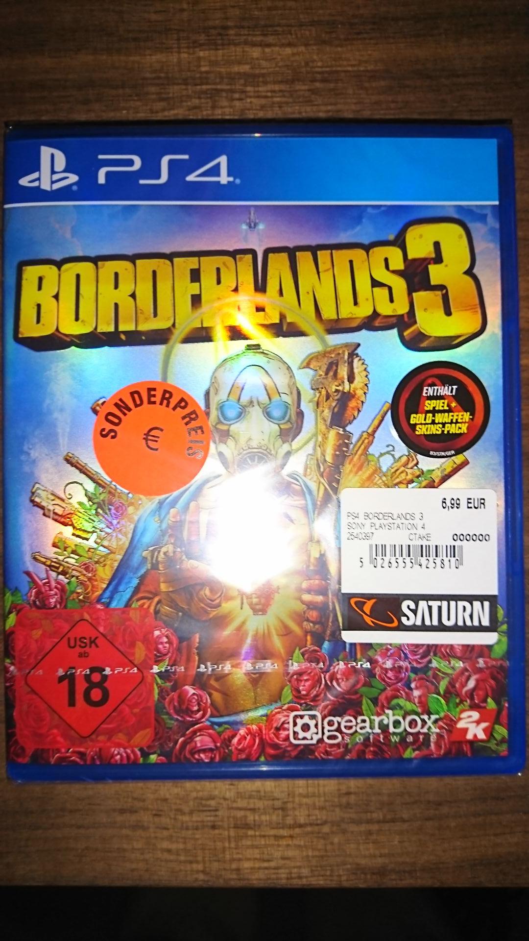 [Lokal Saturn Essen-Steele] Borderlands 3 PS4