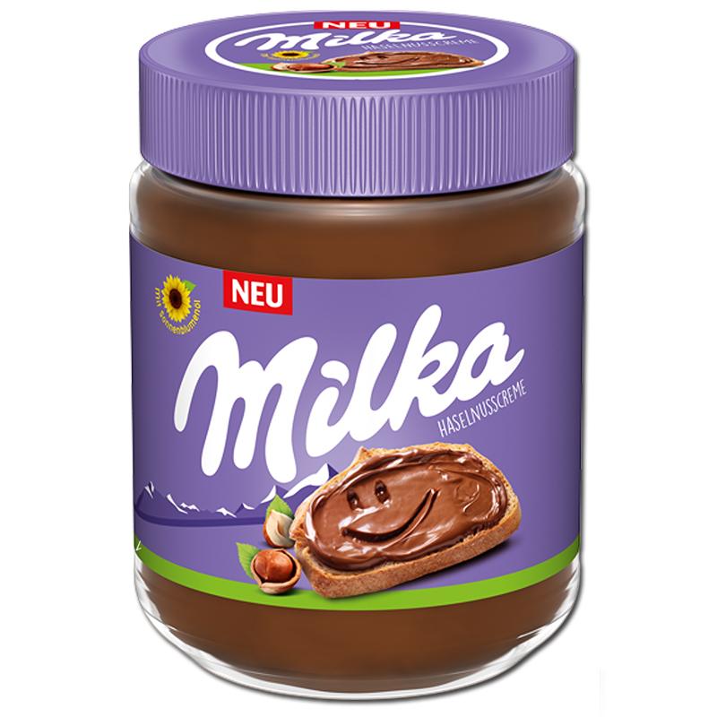 Milka Haselnusscreme je 350g Glas - ohne Palmöl für (1,72€ möglich) [Müller]