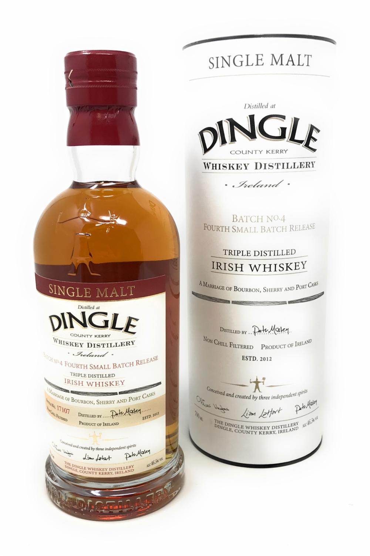 Dingle Batch 4 Single Malt Scotch Whisky 1x 0,7 l Alkohol 46,5% vol.