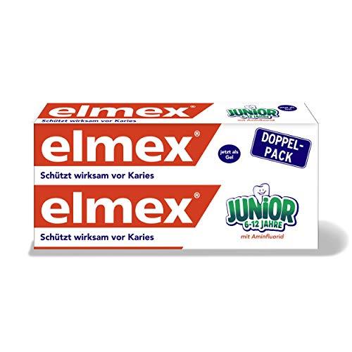 [AMAZON Prime] elmex JUNIOR Zahnpasta, 6-12 Jahre, Doppelpack, 2x75 ml