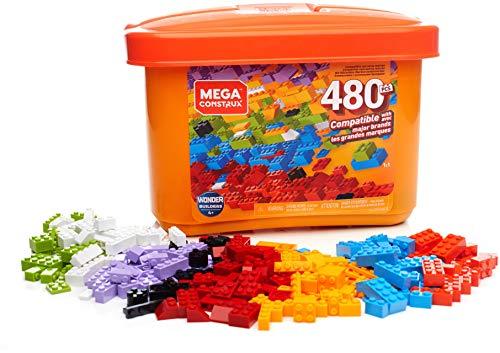 Mega Construx Bausteinebox mit 480 Teilen, Box mit Bausteinen für 14,72€ (Amazon Prime)