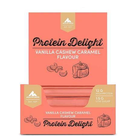 Protein Riegel - Protein Delight - 18x35g - Cashew Caramel (MHD bis September)