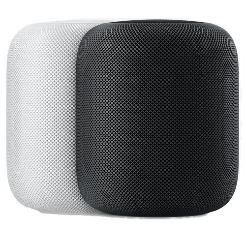 Apple HomePod schwarz oder weiß (MQHW2B/A)