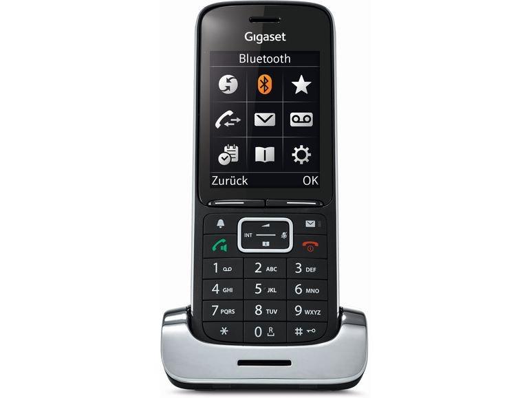 Gigaset SL450HX black (Schnurloses DECT Telefon)