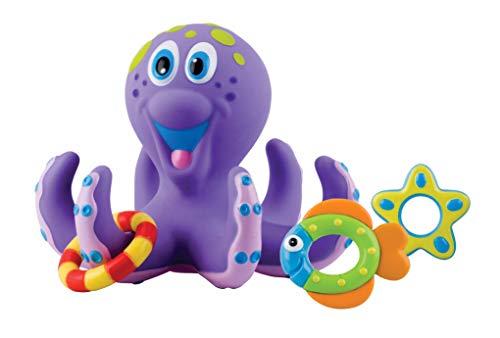 Nuby - Spielzeug Tintenfisch mit 3 Ringen für 6,49€ (Amazon Prime)