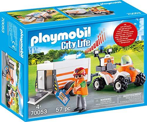 Playmobil City Life - Quad mit Rettungsanhänger (70053) für 11,99€ (Amazon Prime & Real)