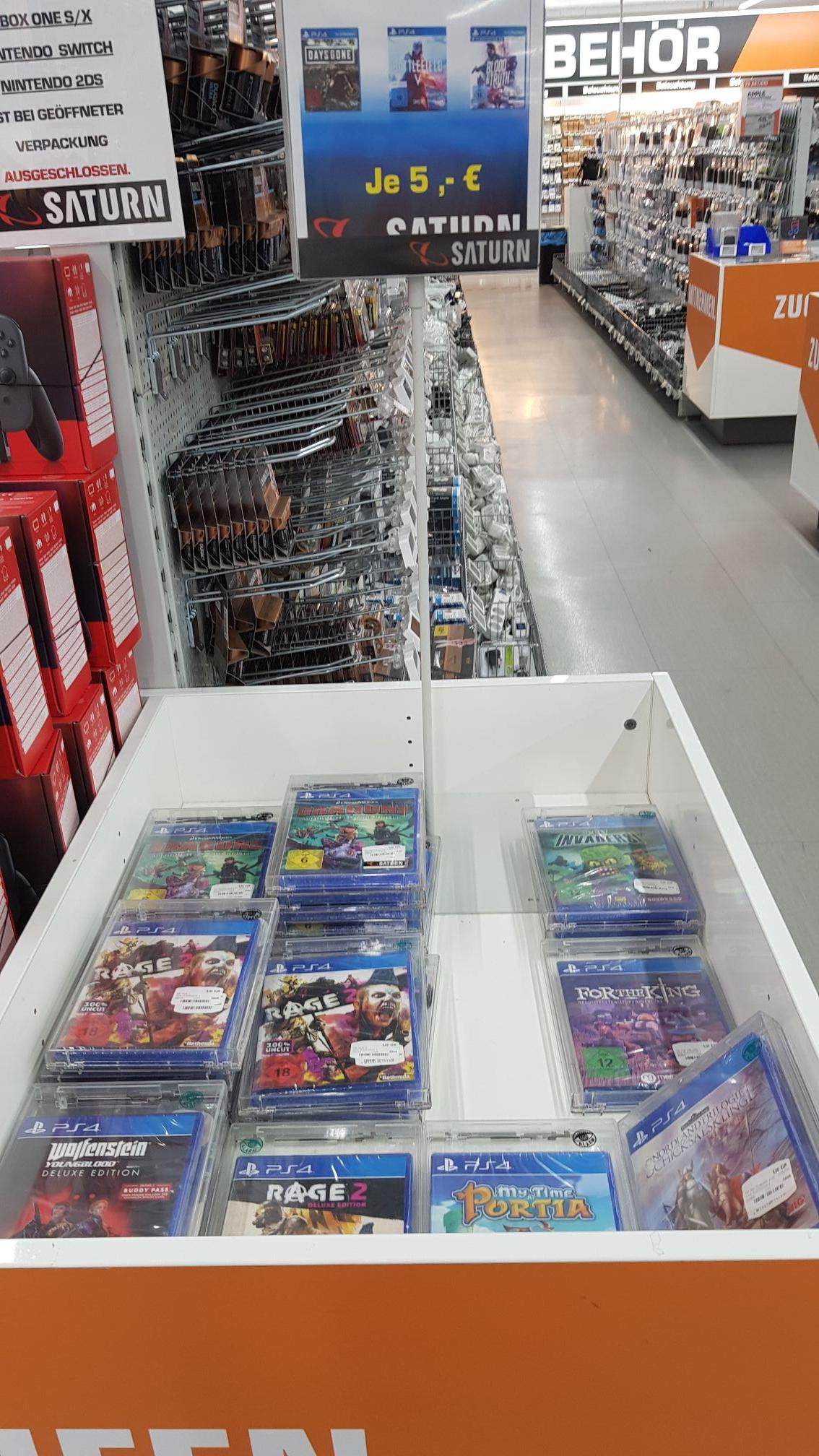 PS4 Rage 2, Wolfenstein Young Blood etc. für 5€ München Stachus [lokal]