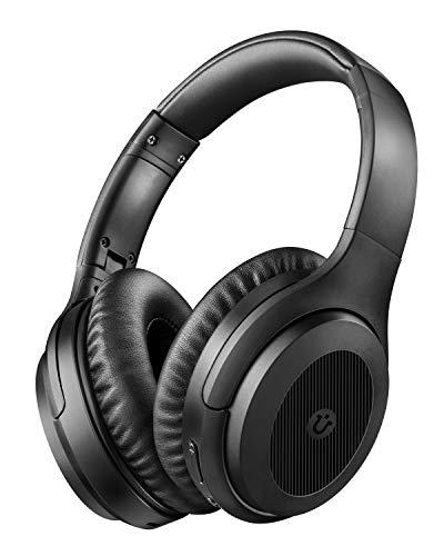 Utaxo UT-BH001 Bluetooth-Kopfhörer (BT5.0, NFC, ANC, ~30h Akkulaufzeit, Mikrofon, Kabelbetrieb möglich, faltbar)