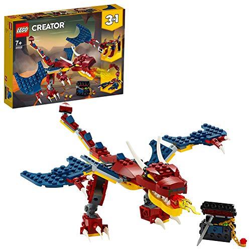 [Amazon Prime] LEGO 31102 Creator 3-in-1 Feuerdrache Skorpion Säbelzahntiger