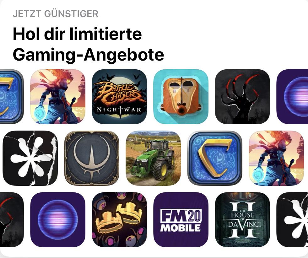 Gaming Angebote iOS & iPadOS Sammeldeal