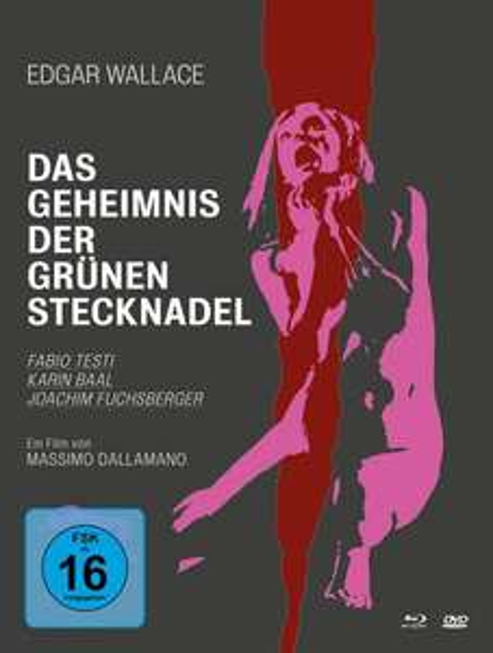 [Thalia Club] Edgar Wallace - Das Geheimnis der grünen Stecknadel - Mediabook [2 BRs] (+ DVD)