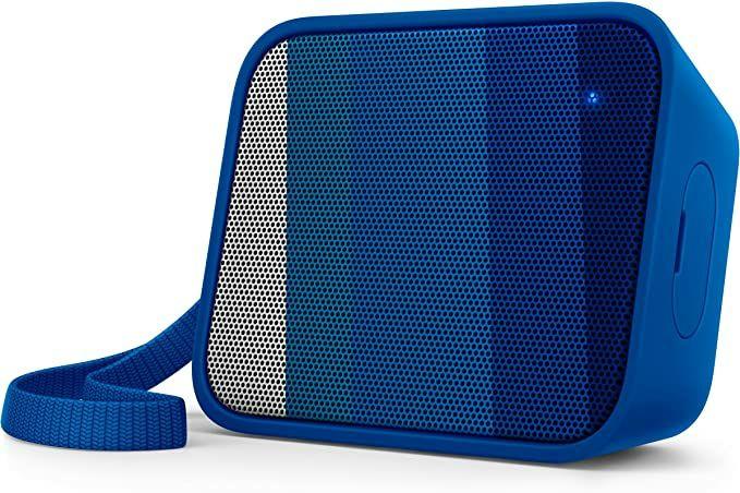 Amazon Philips BT110A PixelPop tragbarer Mini Bluetooth-Lautsprecher, Prime KV