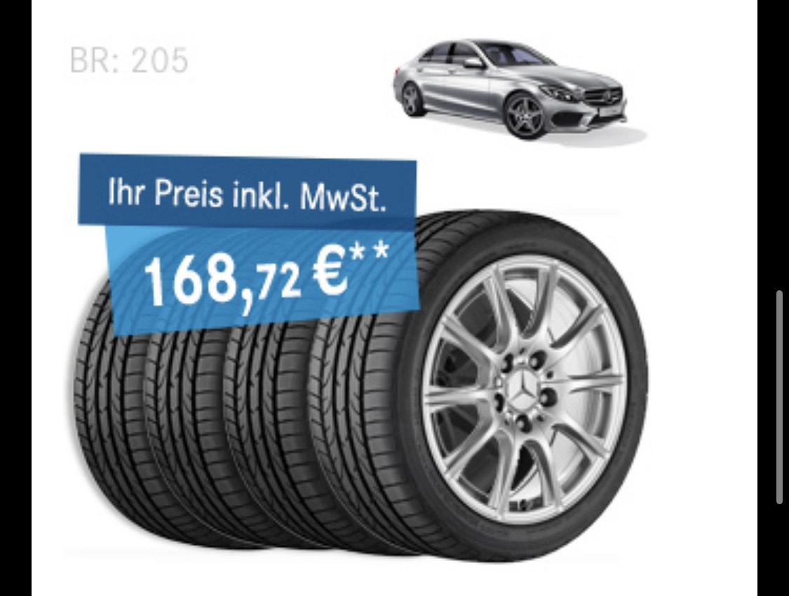 [Mercedes-Benz Gebrauchtteile Center] 25% auf gebrauchte Winterkompletträder