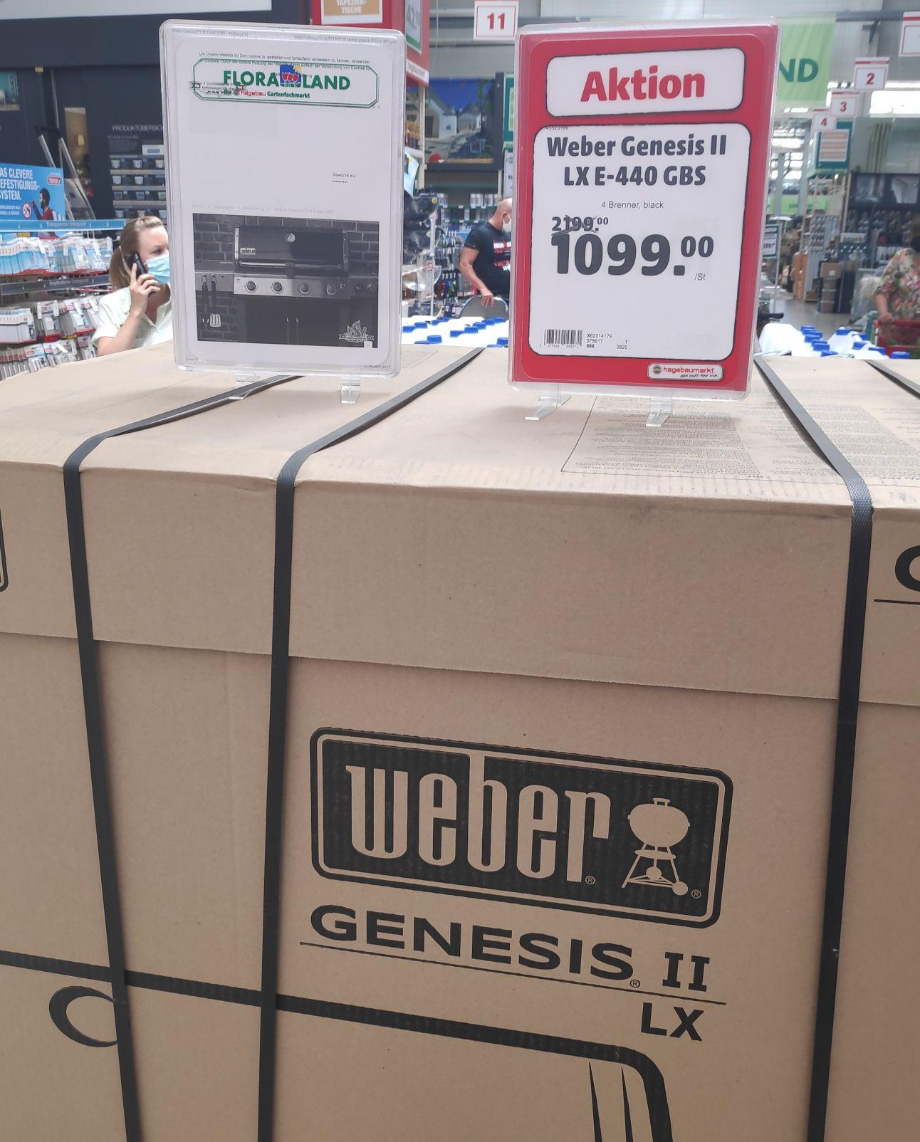 Weber Genesis LX-E 440 GBS im Hagebau in 85386 Eching