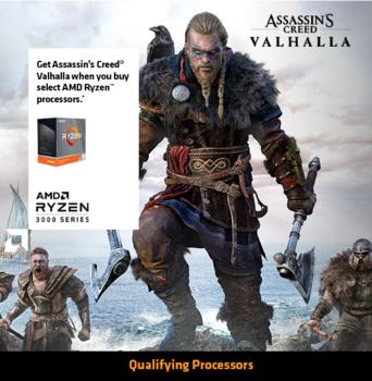 AMD Ryzen 7 3800X + Assassins Creed Valhalla Standard Edition [PC]