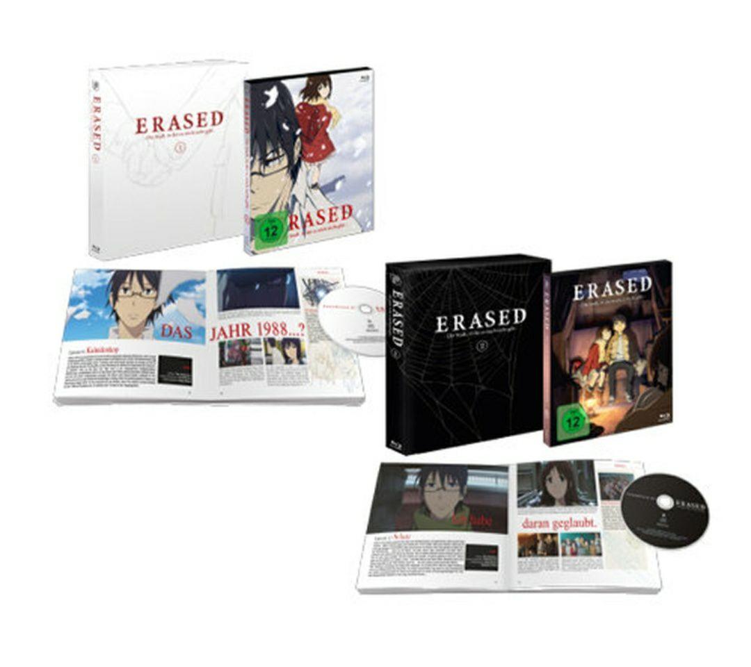 Erased - Die Stadt in der es mich nicht gibt - Limited Edition Bundle (Bluray) - Anime