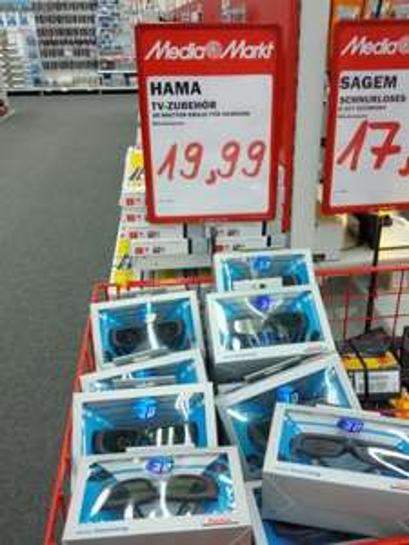 [Lokal] Media Markt Kaiserslautern: Hama 95589 3D-Shutterbrille für Samsung 3D-TVs