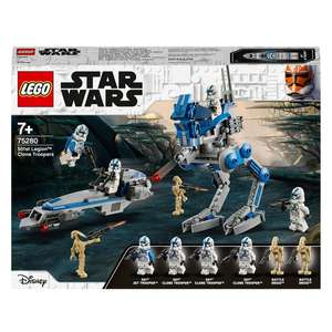 LEGO Star Wars 75280 Clone Troopers der 501. Legion & 5+5 fach Payback Coupon