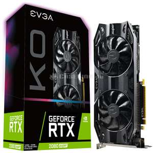 EVGA GeForce RTX 2080 Super KO Gaming - 8GB GDDR6 Grafikkarte (Caseking)