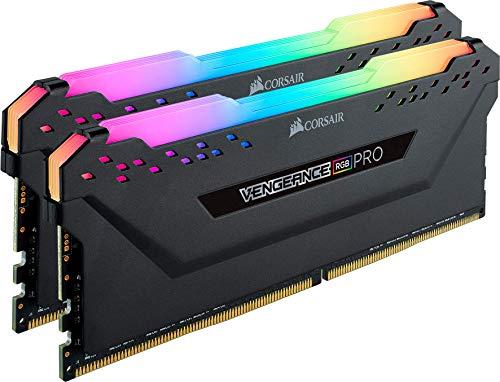Kit Memory DDR4 Corsair Vengeance RGB PRO 16GB XMP 2.0 Enthusiast (2x8GB) 3200MHz, CL16, Schwarz