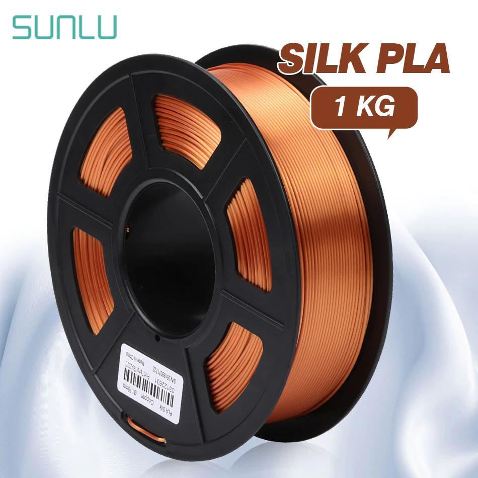 3D Druck SUNLU Silk SEIDE PLA Filament 1,75mm 1kg
