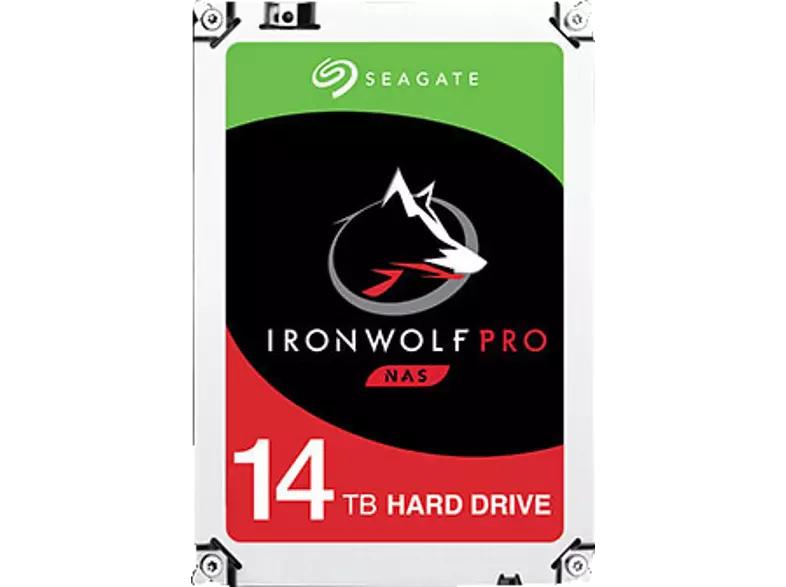 Seagate IronWolf Pro NAS HDD +Rescue 14TB, SATA 6Gb/s (ST14000NE0008)