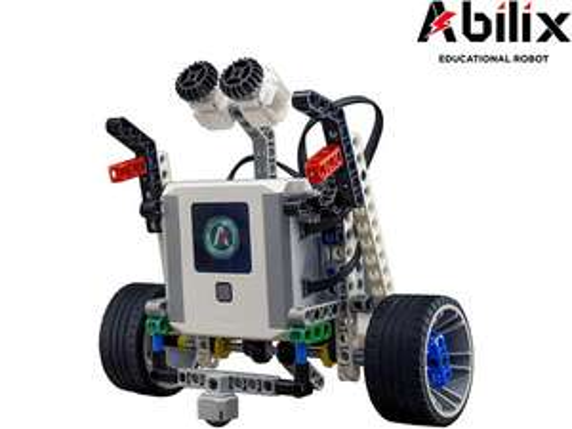 "Abilix Roboter-Bausatz ""Krypton 0"" (409 Teile, Programmierbar, 2 Motoren, 2 Sensoren, Steuerung per App) [iBOOD]"