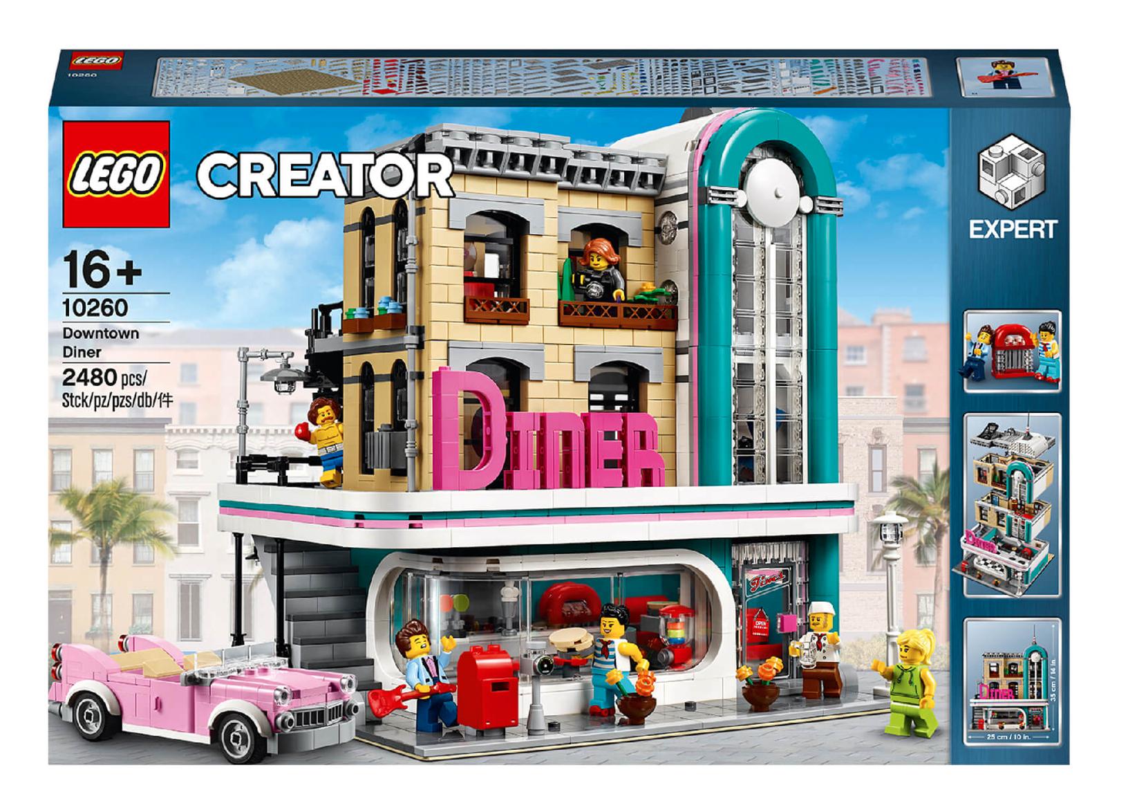 LEGO Creator Expert: Amerikanisches Diner (10260) // Vorbestellung