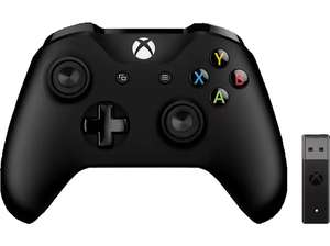 Xbox Controller + Wireless Adapter für Windows Controller (47,86€ bei Abholung)