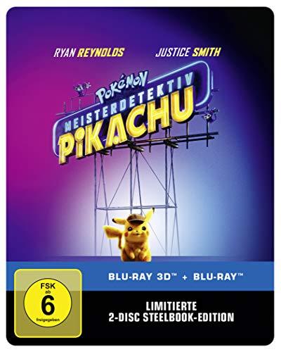 Pokémon Meisterdetektiv Pikachu 3D + 2D Steelbook [Amazon]
