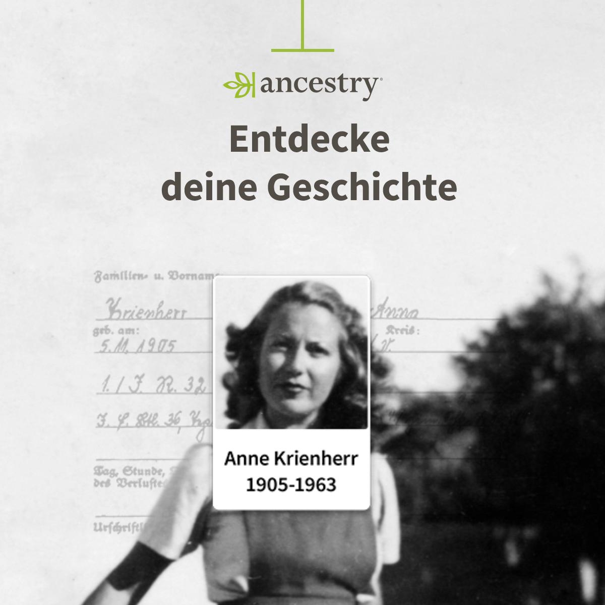 Gratis Zugriff auf historische Aufzeichnungen zum 2. Weltkrieg bei Ancestry (bis 03.09)