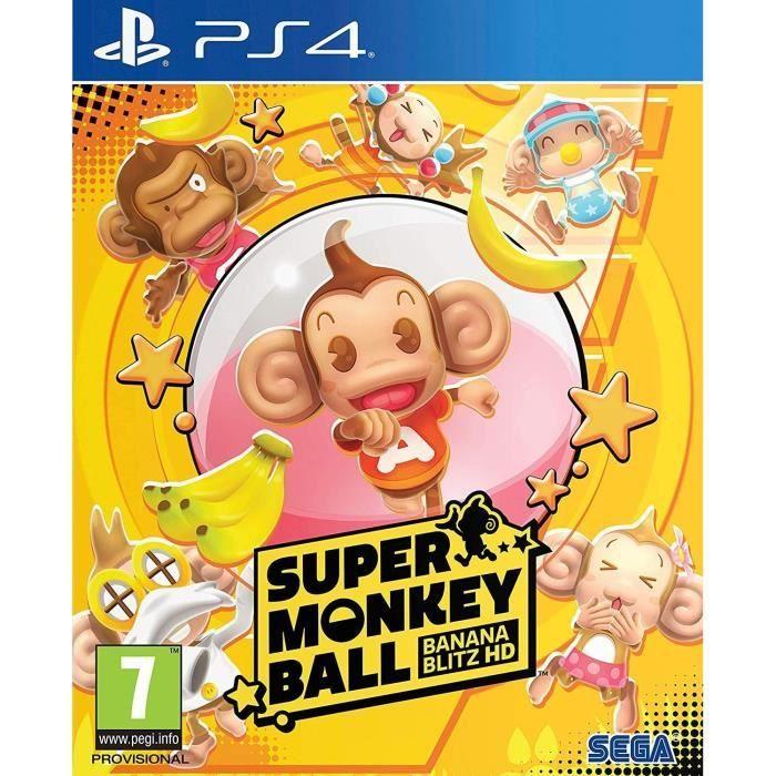 Super Monkey Ball: Banana Blitz HD (PS4) für 3€ (Cdiscount)