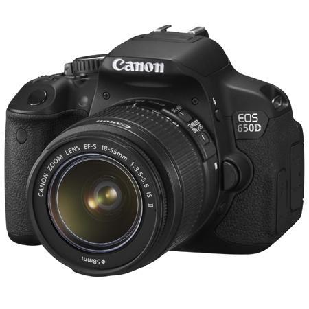 [T-Online Shop] Canon EOS 650D + EF-S 18-55 IS II für ca. 542€