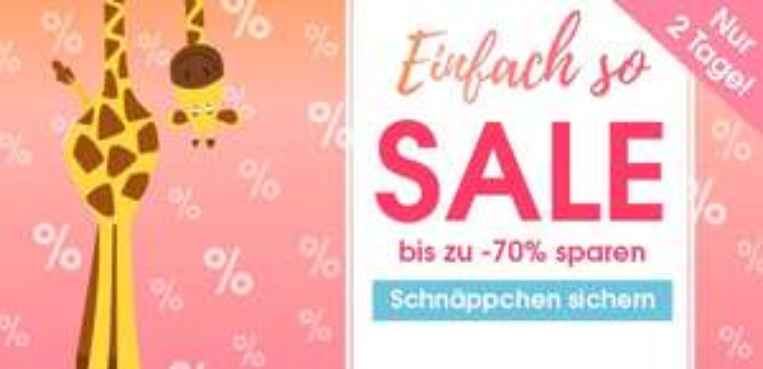[Babymarkt] Einfach-So Sale, z.B. Steiff Langarmshirt cloud dancer für 13,49€ + 4,95€ Versand, Sterntaler Schaukeltier Emmi Girl für 58,49€